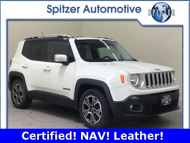 Jeep Renegade Limited >> Pre Owned 2015 Jeep Renegade Limited Fwd 4d Sport Utility